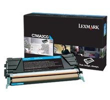 Lexmark C746A2CG, cyan