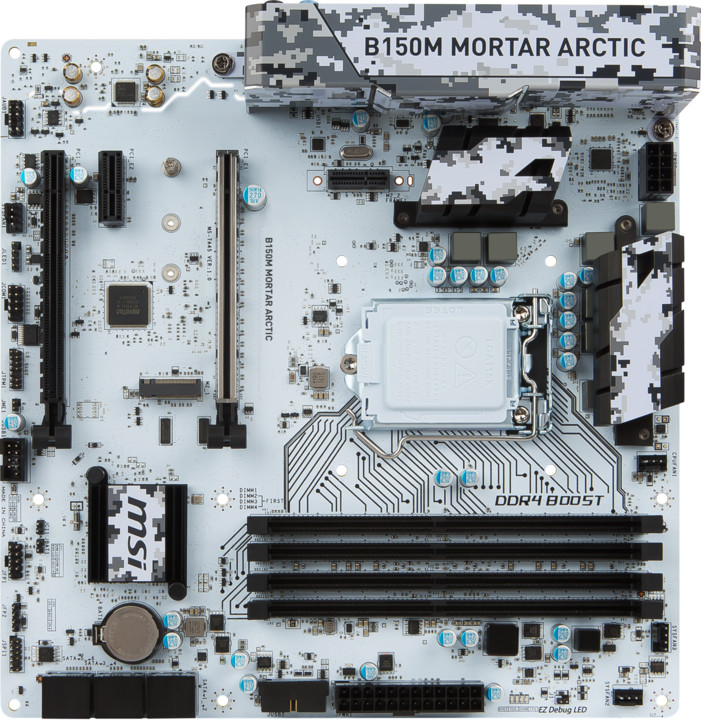 MSI B150M MORTAR ARCTIC - Intel B150