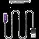 WSKEN magnetický nabíjecí pro Sony 1m, černý