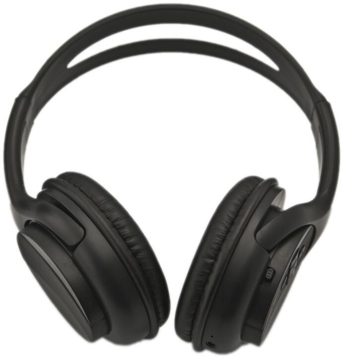 CONNECT IT Stereo Bluetooth sluchátka, černá