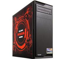 HAL3000 IEM Certified PC Infinium by MSI, černá - PCHS2170 + Intel Extreme Masters - kupón na hry a kredit do her v ceně 7452 Kč