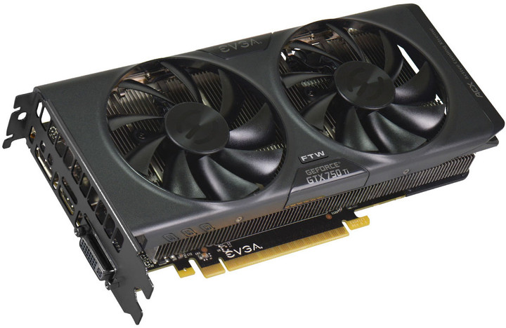 EVGA GeForce GTX 750 Ti FTW w/ ACX Cooling 2GB GDDR5