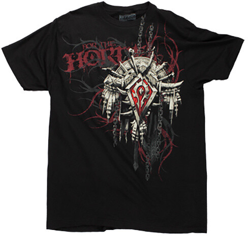 World of Warcraft - Horde Crest v2 (US XXL / EU XXXL)