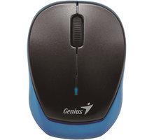 Genius Micro Traveler 9000R V3, černá/modrá - 31030132101