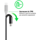 Belkin kabel Premium Kevlar USB-A 2.0 /microUSB, 1,2m - zlatý