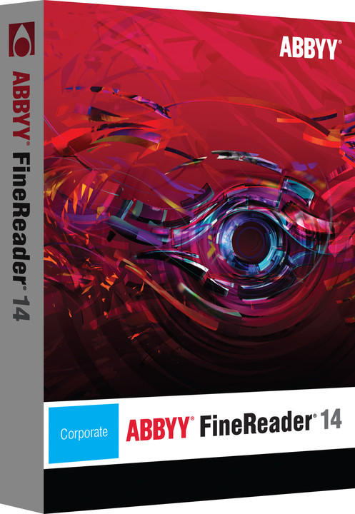 ABBYY FineReader 14 Corporate ESD / CZ Extension from Standard