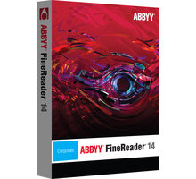 ABBYY FineReader 14 Corporate / ESD / CZ Upgrade - AB-10558