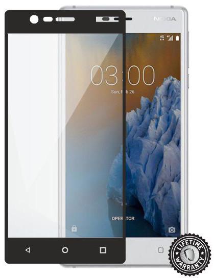ScreenShield ochrana displeje Tempered Glass pro Nokia 3 (2017), černá