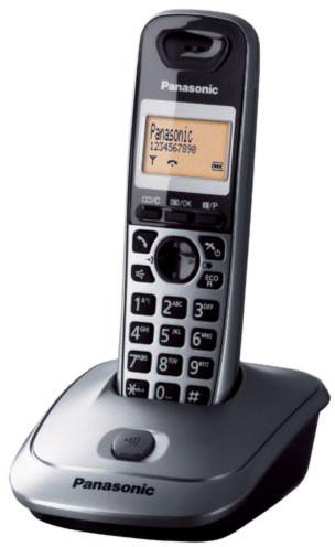 Panasonic DECT KX-TG2511FXM, stříbná