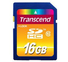 Transcend SDHC 16GB Class 10 - TS16GSDHC10