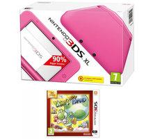 Nintendo 3DS XL Pink + Yoshi's New Island Select - NI3H2231
