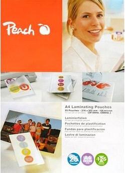 Peach laminovací fólie A5, 125mic, 100ks