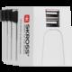 Skross MUV USB, 2.5A univerzální pro 150 zemí