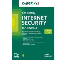 Kaspersky Internet Security pro Android CZ, 3 zařízení, 1 rok, nová licence, krabicová - KL1091OBCFS-CZ