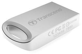 Transcend JetFlash 510S 16GB, stříbrná