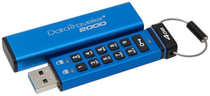Kingston USB DataTraveler DT2000 - 4GB