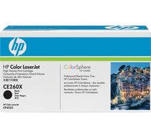HP CE260X, černá