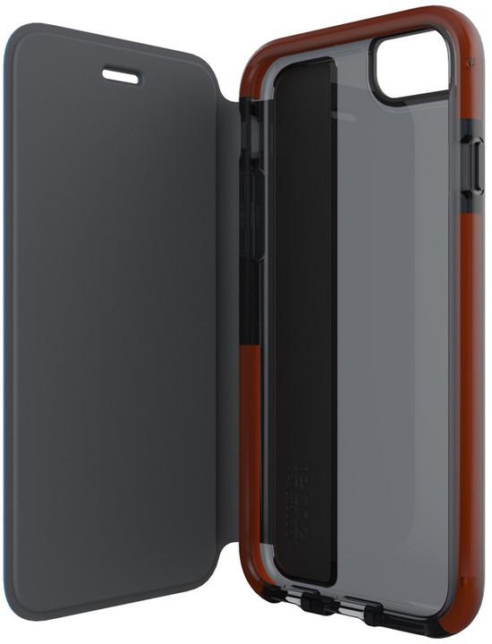 Tech21 pouzdro typu kniha Classic Shell pro Apple iPhone 6, kouřová