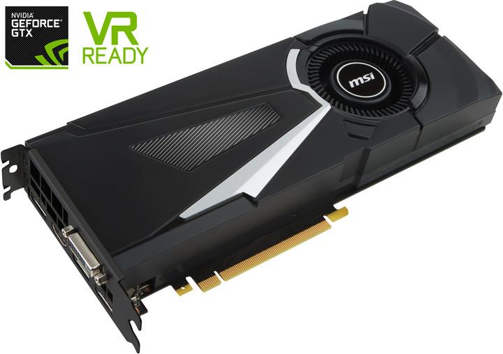 MSI GeForce GTX 1080 AERO 8G, 8GB DDR5X