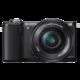 Sony Alpha 5000, černá + objektivy 16-50+55-210mm