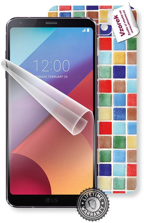 ScreenShield fólie na displej + skin voucher (vč. popl. za dopr.) pro LG H870 G6