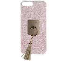 Guess Ring TPU Pouzdro Pink pro iPhone 7 Plus - GUHCP7PRSRG