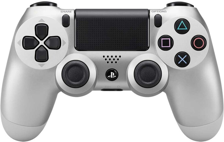 Sony PS4 DualShock 4, stříbrný