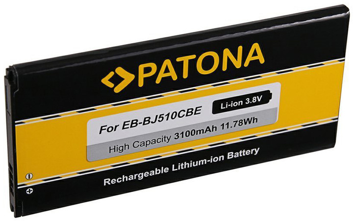 Patona baterie pro Samsung J5 2016 3100mAh 3,8V Li-Ion