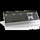 Rapoo E9270p, stříbrná, CZ