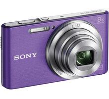 Sony Cybershot DSC-W830, fialová - DSCW830V.CE3