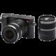 Xiaomi Yi M1 + 12-40mm + 42.5mm f/1.8, černá