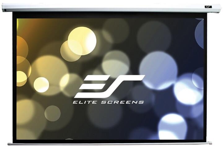 """Elite Screens plátno elektrické motorové 106"""" (269,2 cm)/ 16:9/132,1 x 234,7 cm/ Gain 1,1/ case bílý"""