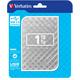Verbatim Store'n'Go - 1TB, stříbrná