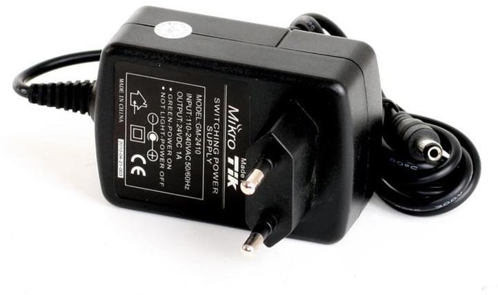 Mikrotik napájecí adaptér 24V/ 1A pro RouterBOARD