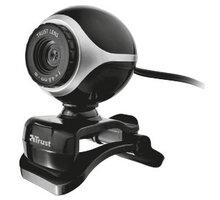 Trust Exis Webcam - černo-stříbná - 17003