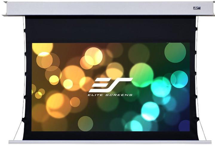"""Elite Screens plátno elektrické motorové stropní 135"""" (342,9 cm)/ 16:9/ 168,1 x 299 cm"""