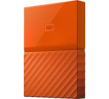 WD My Passport - 1TB, oranžová - WDBYNN0010BOR-WESN