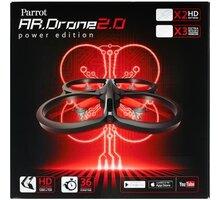Parrot kvadrokoptéra AR.Drone 2.0, power edition - PF721003BI