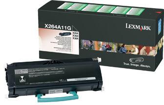 Lexmark X264A11G, černá