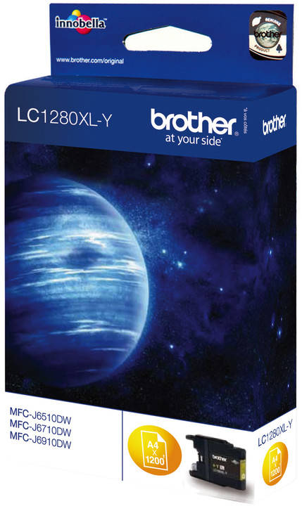 Brother LC-1280XLY, yellow