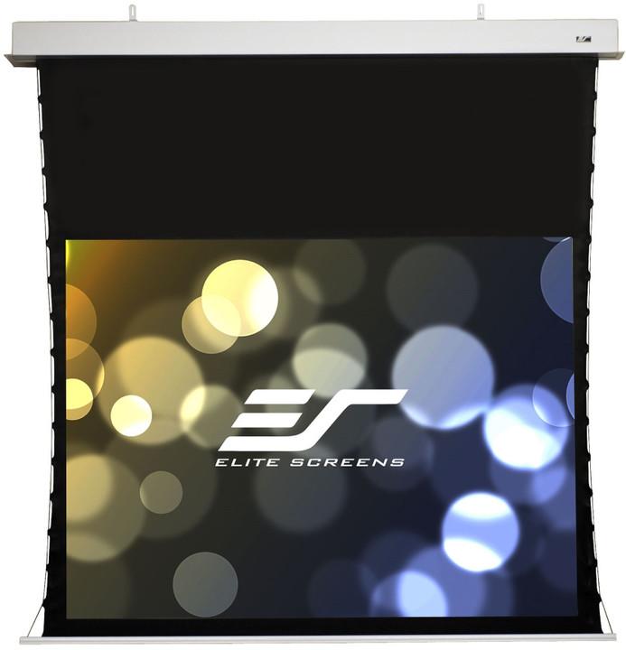 """Elite Screens plátno elektrické motorové stropní 114"""" (289,6 cm)/ 16:10/ 153,4 x 245,4 cm"""