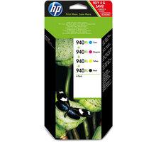 HP C2N93AE, pack, č. 940XL, CMYK – ušetřete až 20 % oproti standardní náplni