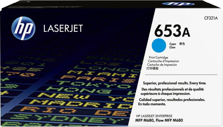 HP 653A Cyan