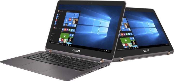 ASUS ZenBook Flip UX360UA, šedá