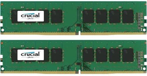 Crucial 16GB (2x8GB) DDR4 2133, Dual Ranked