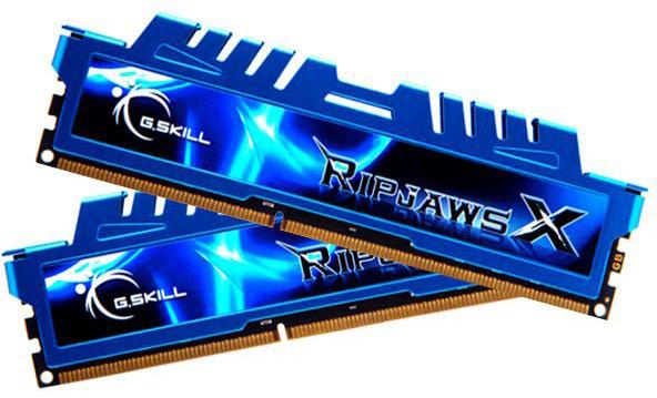 G.SKill RipjawsX 8GB (2x4GB) DDR3 2400 CL11