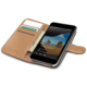 CELLY Wally pouzdro pro Microsoft Lumia 550, PU kůže, černá