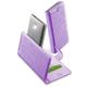 CellularLine BOOK UNI STYLE univerzální pouzdro typu kniha, velikost 3XL, fialová
