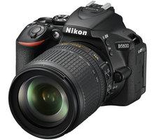 Nikon D5600 + 18-105 AF-S DX VR - VBA500K003 + Spací pytel Alpine Pro Saltan v ceně 999 Kč