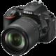 Nikon D5600 + 18-105 AF-S DX VR  + Spací pytel Alpine Pro Saltan v ceně 999 Kč + Cashback 1 350 Kč od Nikonu